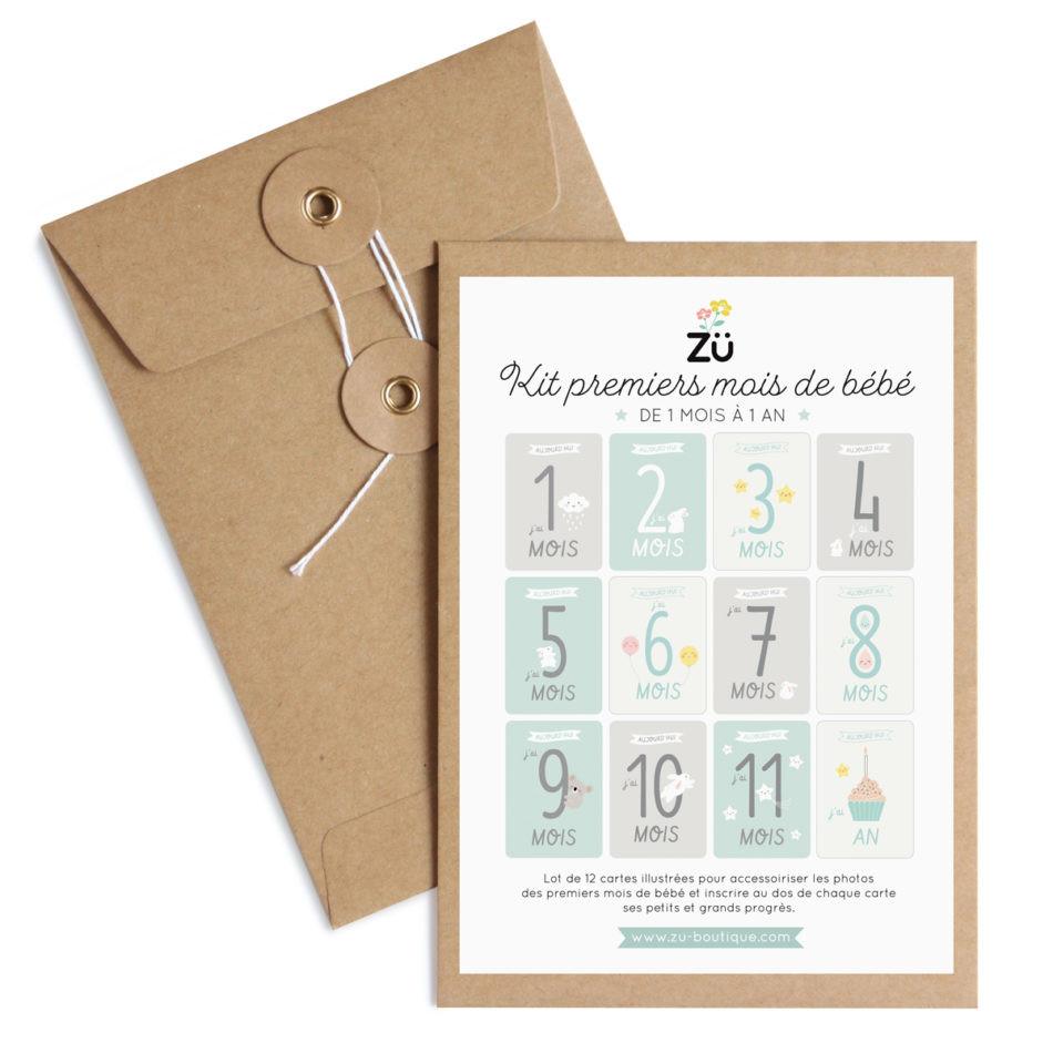 ZÜ - Kit premiers mois de bébé