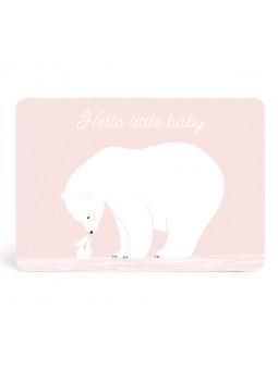 ZÜ - Carte Hello Little Baby
