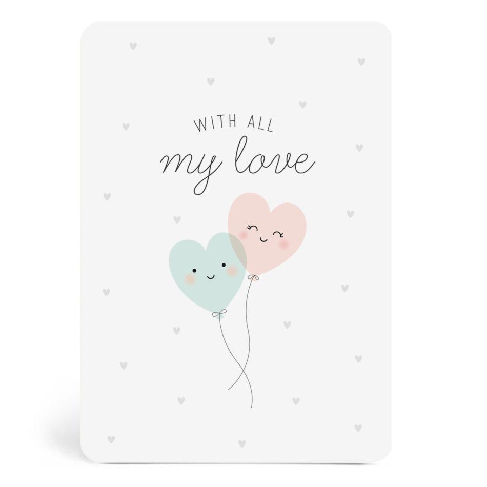 ZÜ - Carte With all my love