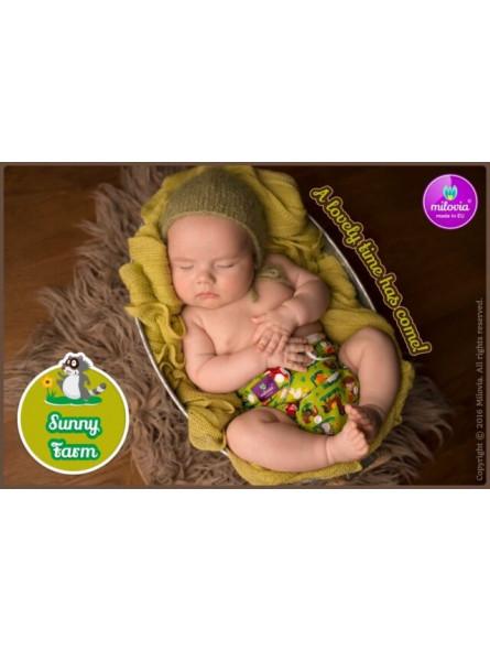 MILOVIA - Couche TE2 nouveau né