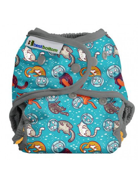 BEST BOTTOM DIAPERS - Couche TE2 CAT-A-STROPHIC