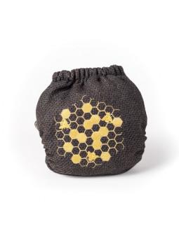 Culotte laine brodée BEE
