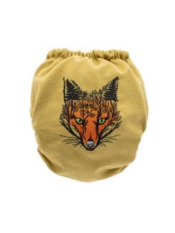 Culotte laine brodée FOX