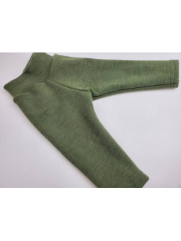 BUMBY WOOL - Pantalon droit...