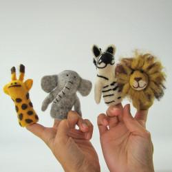Marionnettes à doigts en...