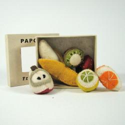 Mini fruits en laine...