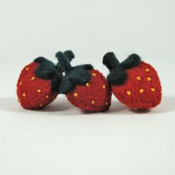 Fruits en laine feutrée - 3...