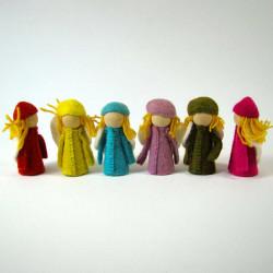 Petits Elfes en laine...