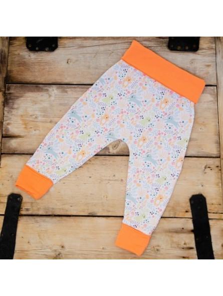 CULLA DI TEBY - pantalon évolutif en coton biologique